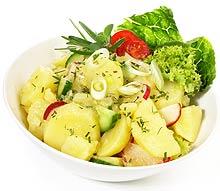kartoffelsalat mit mayonnaise und senf