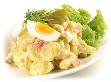 partyrezepte kartoffelsalat rezepte mit br he oder mayonnaise. Black Bedroom Furniture Sets. Home Design Ideas