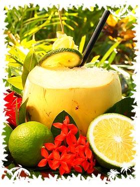 tropical cocktails mit kokosnuss bei rezepte. Black Bedroom Furniture Sets. Home Design Ideas